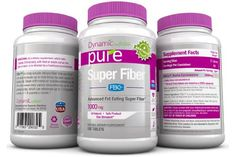 SUPER FIBER with FBCX Revolutionary New Patented Fiber Product Just released on Dr Oz that binds to and Eliminates up to 9 times its weight in fat and reduces calorie absorption by up to 500 fat calories a day, 2000mg per serving, 180 count bottle
