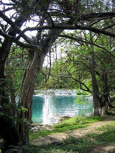 Naranjo River, Huasteca Potosina, San Luis Potosi, Mexico