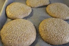 I never buy more burger buns of any kind. They are so … – Dinner Recipes Baking Recipes, Dessert Recipes, Great Recipes, Favorite Recipes, Cooking Cookies, Danish Food, Burger Buns, Mini Foods, Recipes From Heaven