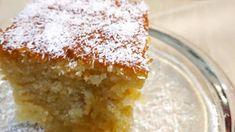 """Νόστιμη συνταγή μαγειρικής από """"Κατερίνα Λάμπρου-Μπαχάρι και κανέλα."""" ΥΛΙΚΑ 2 κεσέδες καλαμποκελαιο 2 κεσέδες γιαούρτι 2 κεσέδες ζάχαρη 2 κεσέδες σιμιγδάλι ψιλό 2 κεσέδες καρύδα 2 κεσέδες αλεύρι που φουσκώνει μόνο του 6 αυγά 2 ποτηράκια του κρασιού κονιάκ 2 βανίλιες 1 Pudding, Sugar, Desserts, Food, Projects, Tailgate Desserts, Log Projects, Deserts, Blue Prints"""