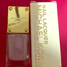 MICHAEL KORS NAIL LAQUER!! Whisper! Beautiful 💅🏾 Beautiful lavender color! WHISPER! Looks fabulous on and it's long lasting💅🏾 Michael Kors Accessories