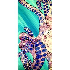 acrylic octopus -Mary Beth Kidd  sold