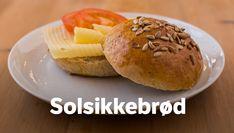 Solsikkebrød Seed Bread, Bread Rolls, Muffin, Baking, Breakfast, Ethnic Recipes, Morning Coffee, Rolls, Buns