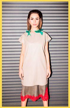 PETOOR X SERAPHIMA Capsule Collection LookBook Short Sleeve Dresses, Dresses With Sleeves, Tunic Tops, Collection, Women, Fashion, Gowns With Sleeves, Moda, Sleeve Dresses