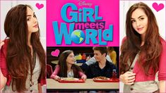 Girl Meets World Middle School Tutorial! Riley's Hair, Makeup & Outfit
