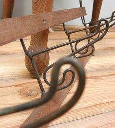 Wall Hook イギリスアンティーク壁掛け折りたたみフック4連 インテリア 雑貨 家具 Antique ¥8000yen 〆06月23日