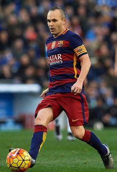 Iniesta for Barcelona FC