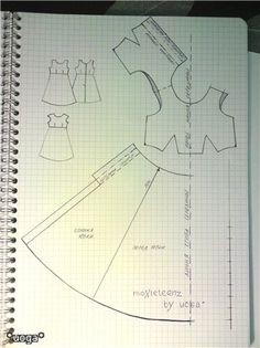 Изображение Moxie Teenz dress pattern