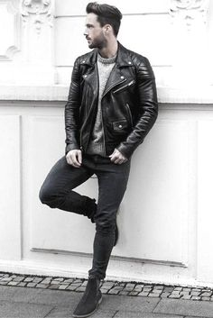 Mens leather jackets. Leather jackets are a crucial part of each and every man's set of clothes. Men need outdoor jackets for several functions and several weather conditions