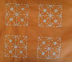 Afbeeldingsresultaat voor sashiko borduren
