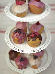 Daily Recipes: Tea party fairy cakes
