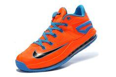 Mens Shop Nike Air Max LeBron 11 Low Bright Orange/Royal Blue