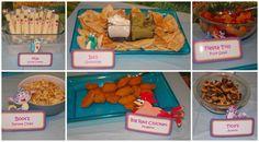 #DoraParty - The Map string cheese....adorable!!