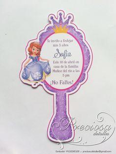 Resultado de imagen para invitaciones de la princesa sofia para completar