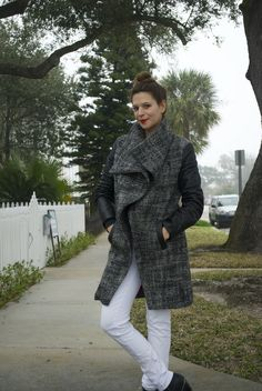 Sallieoh - a winter coat just in time for spring