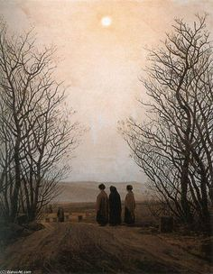 'Easter Morning', Oil On Canvas by Caspar David Friedrich (1774-1840, Germany)