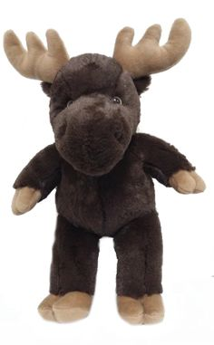 "Singing 16"" plush Moose which plays custom music featuring your child's name."