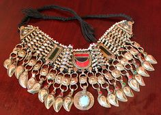 Necklace. Hand Made Kuchi Tribal Necklace. by AnythingDiscovered