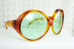 60s Sunglasses 1960s Oversize Sunglasses Vintage by THAYEReyewear, $44.00