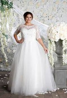 125L Lace Applique, One Shoulder Wedding Dress, Bodice, Ball Gowns, Satin, Plus Size, Bridal, Wedding Dresses, Collection
