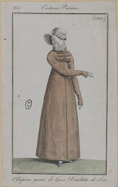 Costume Parisien, 1816