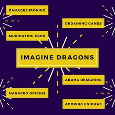 Imagine Dragons, qué hay detrás de su nombre | LineUP Magazine