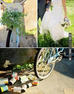 bicycle   CHECK OUT MORE IDEAS AT WEDDINGPINS.NET   #weddings #weddinginspiration #inspirational