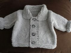 500805fbc875 162 meilleures images du tableau Layette   Baby knitting, Knitting ...