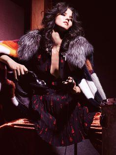 Glam Rock   Vogue Mexico October 2015 Model: Katlin Aas Photographer: Dusan Reljin