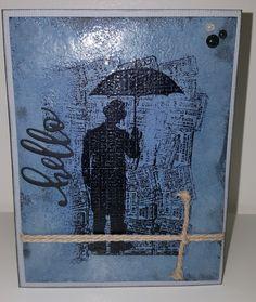 Embossed rain man carx