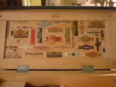 Decorating idea for my tool box.  Ye Olde Woodworker on facebook.