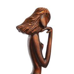 """Scultura in legno """"Sulla riva del mare"""" by Woodinthemood on Etsy"""