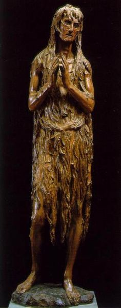 Mary Magadalen  Sculpture in cedarwood by Donatello  in the Bargello Museum in Florence, Italy.  No words can describe this piece and no photo can do it justice.