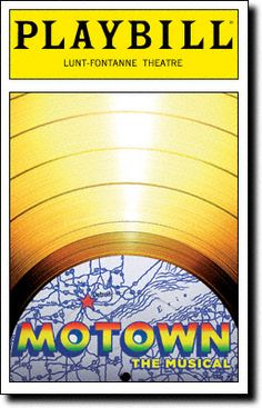 Motown: The Musical Playbill Covers on Broadway - Information, Cast, Crew, Synopsis and Photos - Playbill Vault  Opens on Broadway in April 2013