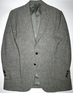 ON SALE NOW Vintage Macys Men's Store Gray Sport Coat / Jacket available at VintageMensGoods on Etsy, $40.00