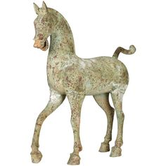 OKA Bronze Horse, Large (38,805 PHP) ❤ liked on Polyvore featuring home, home decor, horses, sculptures, decor, fillers, furniture, bronze, alabaster statue and turquoise home decor