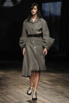 Milan Fashion Week: Prada Fall 2013 / Photo by Anthea Simms