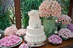 Casamento (wedding) Bianca e Jeferson - bolo (Custom)