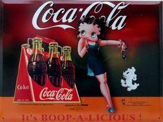 Coke or Pepsi classic betty boop Coke, Pepsi Ad, Coca Cola Poster, Coca Cola Ad, Always Coca Cola, World Of Coca Cola, Vintage Coca Cola, Soda Brands, Betty Boop Cartoon