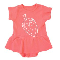 strawberry dress bodysuit from Pink Olive - $48.00