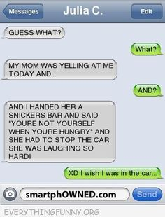 text messages Oh my gosh! If my kids ever did that to me I& be laughing so hard I& p. If my kids ever did that to me I& be laughing so hard I& probably hit someone! Very Funny Texts, Funny Texts Jokes, Text Jokes, Funny Text Fails, Funny Relatable Memes, Stupid Funny Memes, Funny Quotes, Funniest Memes, Mom Funny