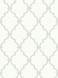 Morrocan inspired pattern for wallpaper...Lowes. Wallpaper for dining room wall