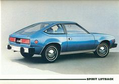 AMC Spirit..i had an '80 or an '83 - but it looked just like this one but it was burnt orange.