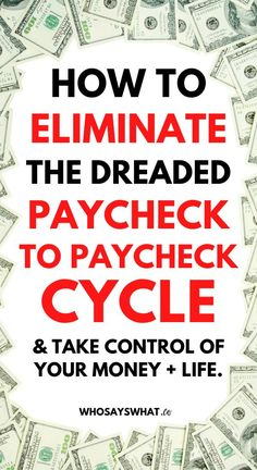 Click to learn how to stop living paycheck to paycheck with a simple budget.  In this guide, you'll set up your budget by paycheck so you can pay off debt and save money while living paycheck to paycheck. #paycheckbudget #budgeting #budgetbypaycheck #budget #finances #debt #save Finances Debt, Budgeting Finances, Budgeting Tips, Finance Books, Finance Tips, Making A Budget, Living On A Budget, Saving For Retirement, Get Out Of Debt