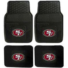 NFL San Francisco 49ers Car Floor Mats Heavy « Delay Gifts