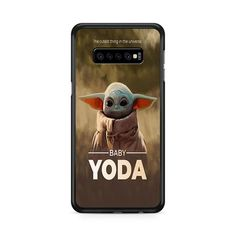 The Cutest Thing In The Universe Baby Yoda Samsung Galaxy S10e   Miloscase Plastic Material, Perfect Fit, Samsung Galaxy, Universe, Phone Case, Cute, Baby, Cell Phone Cases, Kawaii