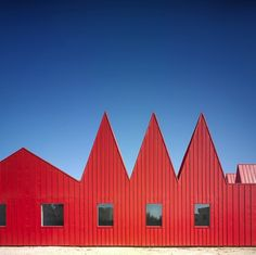 Red exterior paint