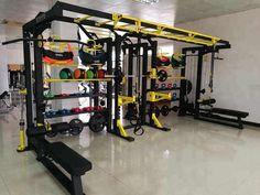 Kettlebell Rack, Dumbbell Rack, Rope Training, Training Workouts, Workout Room Home, Workout Rooms, Workout Stations, Multi Gym, Workout Equipment