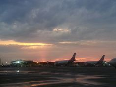CLE HOPKINS / My view from the Tarmac on 5/11/15  ♡