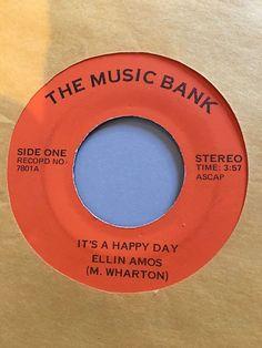 "TORI AMOS - It's a Happy Day / Baltimore 45 MUSIC BANK Ellin Ellen Amos FIRST 7"""